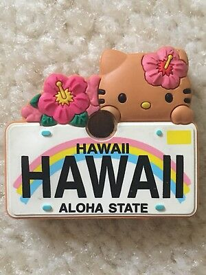 Hello Kitty Rubber Key Cover Sanrio Hawaii Aloha State Key Cover