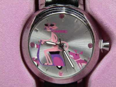 Mib 2004 Pink Panther 40Th Year Anniversary Analog Watch By Shag