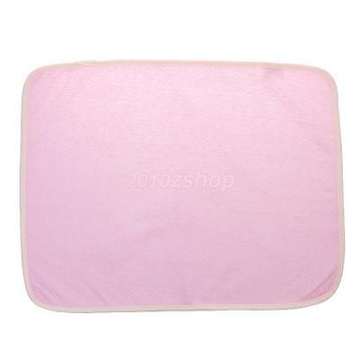 New Baby Reusable Bamboo Diaper Nappy Changing Pad Waterproof Mat for Crib Bed