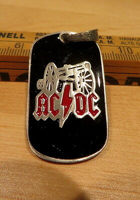 AC/DC For those about to rock Angus Young Black Ice Schlüsselanhänger Metall neu