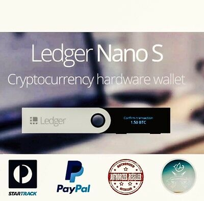 Ledger Nano S Cryptocurrency Hardware Wallet BTC ETH LTC Altcoins ⭐️ IN STOCK ⭐️