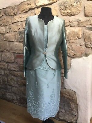 Stunning Mother of the Bride Dress and Jacket Size 12 BNWT