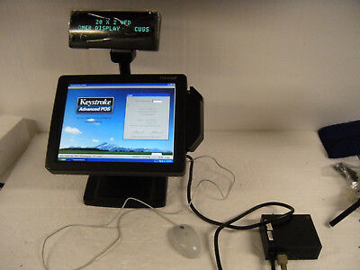 POS system register Scanning Retail store -touch screen-