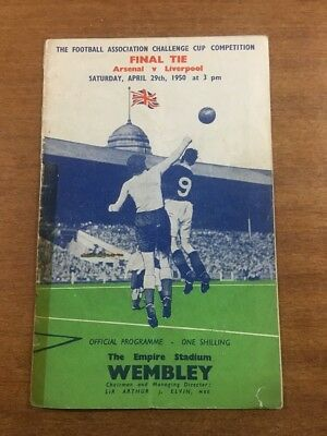 FA Cup Final: 1949/50: Arsenal v. Liverpool: OFFICIAL & ORIGINAL