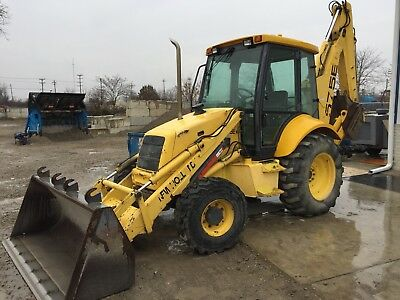 2001 New Holland 575E Loader Backhoe 4x4, 5536 Hours, One owner Machine!