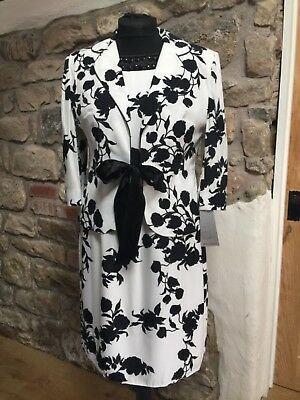 Michaela Louisa Dress and Jacket Size 16 Mother of the Bride BNWT