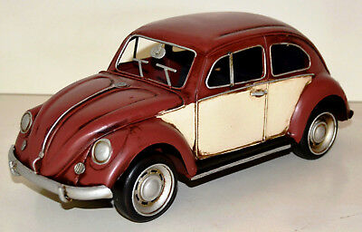VW VOLKSWAGEN BUG CLASSIC 1934 Tin Car Sheet Metal Model approx. 34 cm 37099