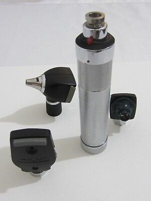 WELCH ALLYN  3.5 v diagnostic set #71050 otoscope & ophthalmoscope +26500