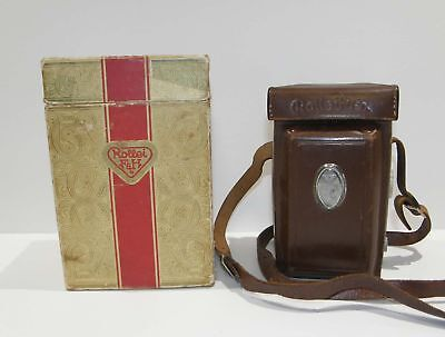 Rolleiflex 1951 Automat MX DBP DBGM TLR Camera Tessar 1:3.5 with Case Strap Box