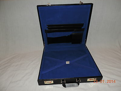 Brand New but VARIOUS MARKED Masonic Grand Lodge Case BONDED LEATHER