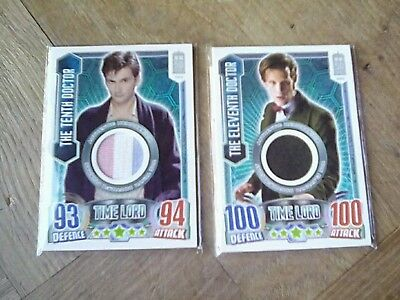 Doctor who alien attax 50th anniversary costume cards