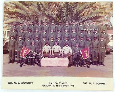 1976 USMC Battalion Large Photo Graduated Marines
