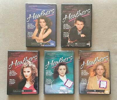 Heathers DVD - Lot of 5 - All Different Covers - Winona Ryder - Christian Slater