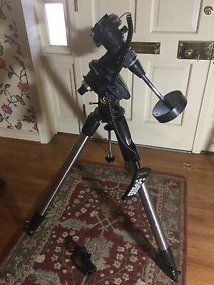 Celestron CG-5 Computerized Mount and Tripod and Counterweight and AC Adapter