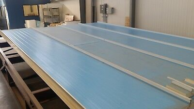 2.5 Inch Thick Heavy Duty Insulated Roof Panels