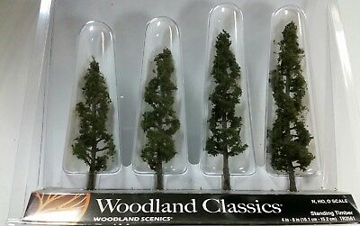 """Woodland Scenics Trees Standing Timber 4-6"""" (4), WOOTR3561"""