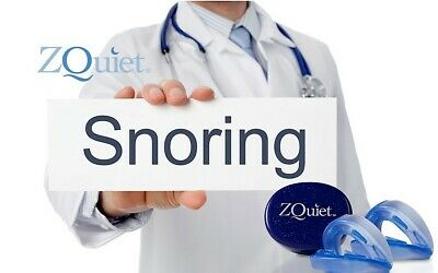 ZQuiet Anti Snore Mouthpiece GENUINE 2 STEP COMFORT SYSTEM Stop Snoring