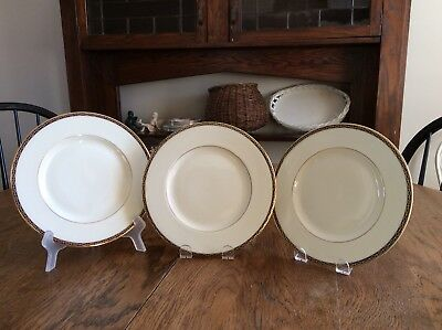 Three (3) Minton St. James Salad Plates