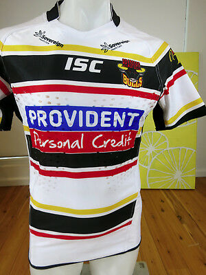 Bradford Bulls   Player Issued Match  Jersey With Gps Pk   Mens Size M
