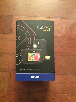 FLIR C3 Compact Thermal Imaging Camera w/ MSX and WiFi, 80x60 Res brand new $699