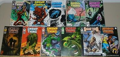 Swamp Thing #54-64 final 11 Moore issues 1986-1987 vs Darkseid