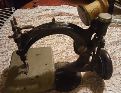 Vintage SEWING MACHINE - Willcox (Wilcox) and Gibbs, EARLY, Pat'd 1861 thru 1917