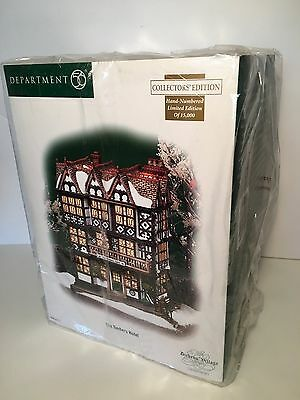 Department 56 (Dept. 56) Dickens' Village - The Timbers Hotel - #56.58742