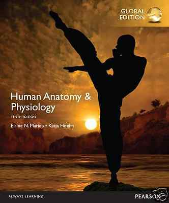 NEW - 3 DAYS to AUS - Human Anatomy & Physiology by Marieb (10 Ed)