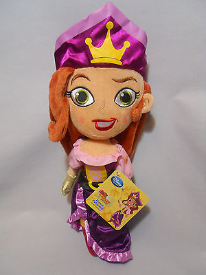Disney Store Pirate Princess Plush Doll Jake and the Never Land Pirates 14""
