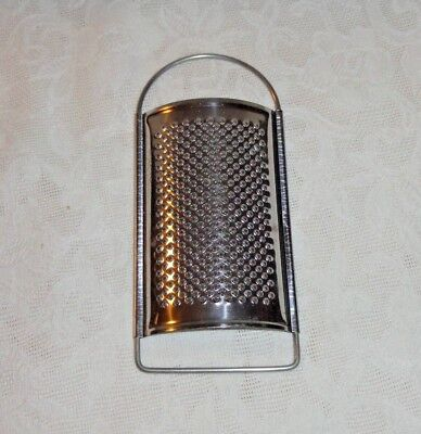 Small 5 Inch Metal Nutmeg Garlic Cheese Grater
