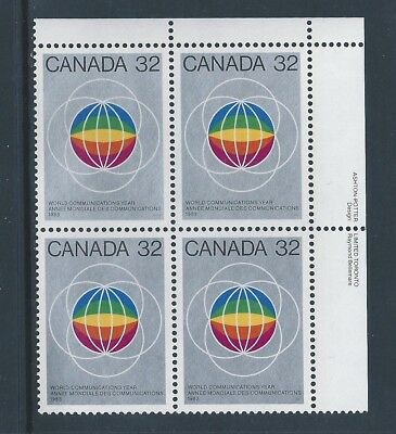 Canada #976i UR PL BL Dull Fluorescent Paper Variety MNH **Free Shipping**