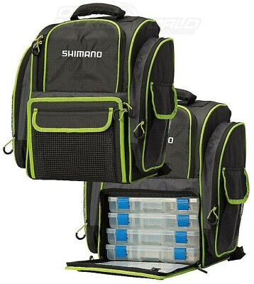 Shimano 4 Tackle Box Backpack BRAND NEW @ Ottos Tackle World