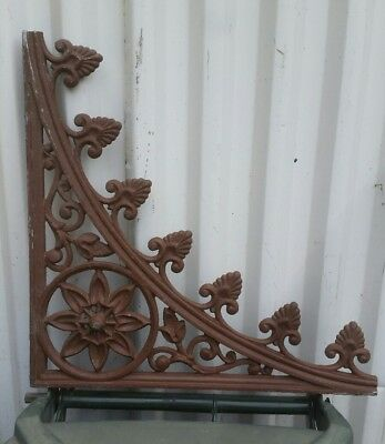 cast aluminium lacework lace has antique iron look to them many available