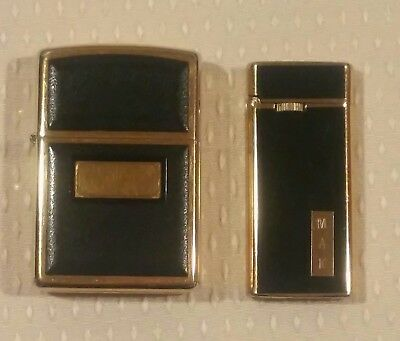 Vintage Lighter lot Zippo & Climax Concorde