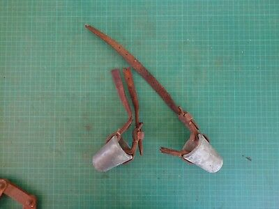 Vintage horn straighters, agricultural tool