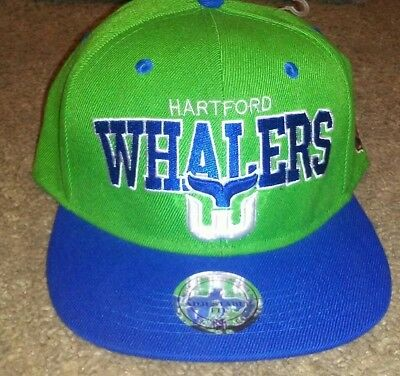 7f6f940090cad HARTFORD WHALERS MITCHELL   Ness NHL Arch Logo SnapBack
