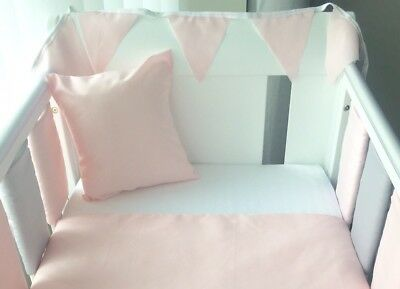 Handmade Cushion Cover Plain Pink 💕