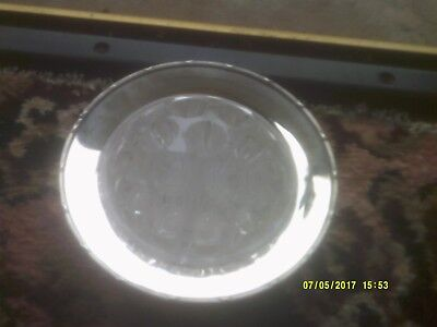 Vintage Silver Plated Rose Bowl By Arther Price Used