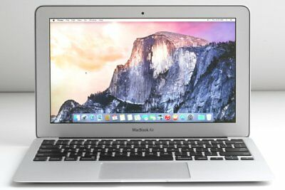 Apple Macbook Air 11 A1465 LIGHT WEIGHT LAPTOP 2013 i5 1.3GHZ 128GB 4GB cracked