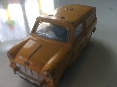 Aa Mini Van Original Vintage Old Dinky Diecast Toy Car Ug