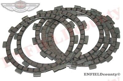 New Set Of 7 Units Friction Clutch Plates Yamaha Rd250 Rd350 Rd400 @usd