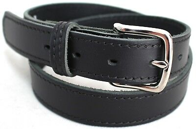 School Uniform Belt Australian Made. New Quality Genuine Full Grain Leather