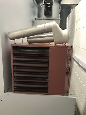 Small gas heater REZNOR. Nearly brand new
