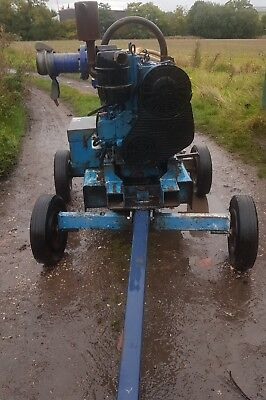 Selwood S150 6 inch Diesel Water Pump On Wheels in WORKING ORDER