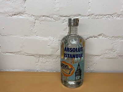 Absolut Vodka Istanbul * Sealed * New * Top