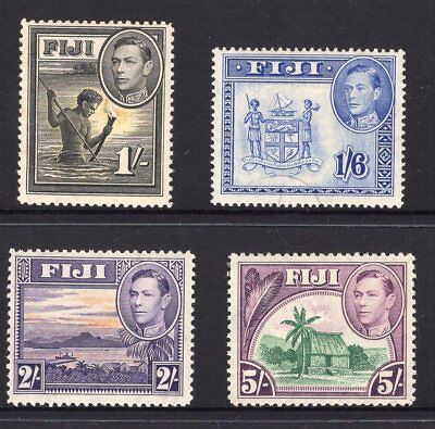 Fiji mint higher value KGV1 issues ( 2 highest values are MNH) see scans x 2