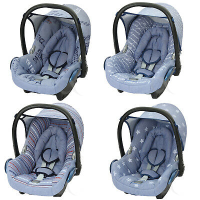 Replacement Spare Seat Cover Fit Maxi Cosi CabrioFix 0 Infant Carrier NEW DENIM