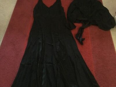 Chesca black dress and jacket 18