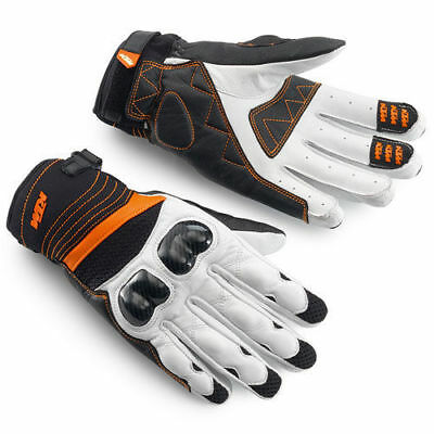KTM RADICAL X GLOVES 14 motorcycle leather mesh summer breathable L and XL
