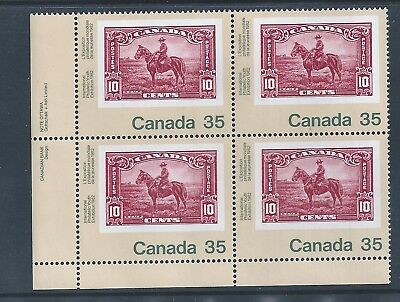 Canada #911i LL PL BL Fluorescent / FL Paper Variety MNH **Free Shipping**